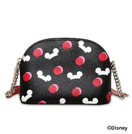 Mickey Mouse Ear Hat Disney Parks Black Kate Spade Crossbody Bag | Mouse Memos Disney Blog