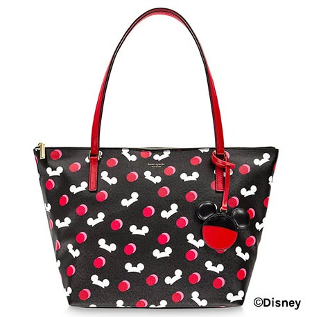 Mickey Mouse Ear Hat Disney Parks Black Kate Spade Tote | Mouse Memos Disney Blog