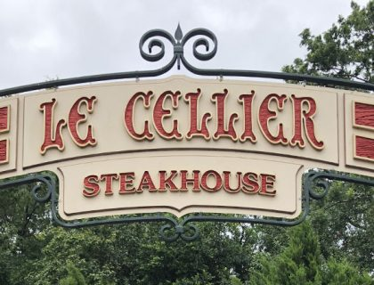 Food Review Le Cellier Steakhouse Epcot Canada Pavillion | Mouse Memos Disney Blog