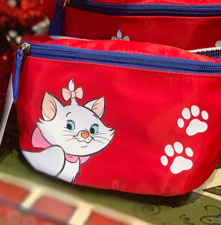 Chic Out the Parks Disney Characters Collection: Marie LoungeFly Hip Pack | Mouse Memos Disney Blog