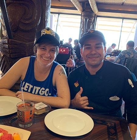 Meeting Chef Josh at 'Ohana Breakfast Disney's Polynesian Village Resort   Mouse Memos Disney Blog