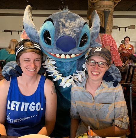 Meeting Stitch at 'Ohana Breakfast Disney's Polynesian Village Resort | Mouse Memos Disney Blog