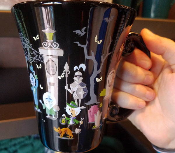 Haunted Mansion Characters Mug Memento Mori at Magic Kingdom | Mouse Memos Disney Blog