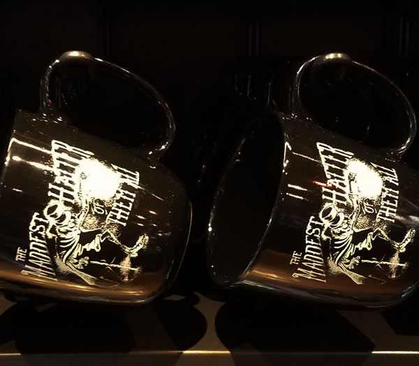 Mad Hatter Coffee Mugs Memento Mori at Magic Kingdom | Mouse Memos Disney Blog