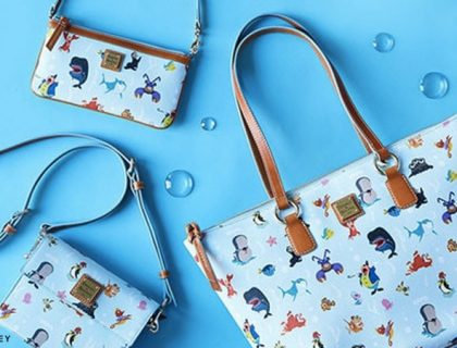 Out to Sea Dooney & Bourke and Disney Handbag Collection from ShopDisney.com | Mouse Memos Disney Blog
