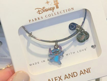 New Stitch Alex and Ani Bracelet | Mouse Memos Disney Blog