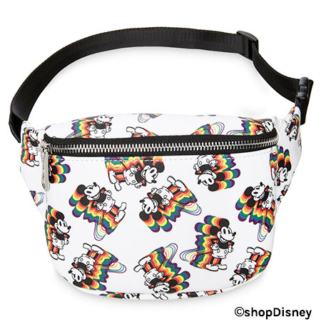 Mickey Mouse Rainbow Collection by Loungefly: Hip Pack | Mouse Memos Disney Blog