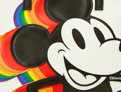 Mickey Mouse Rainbow Collection by Loungefly | Mouse Memos Disney Blog
