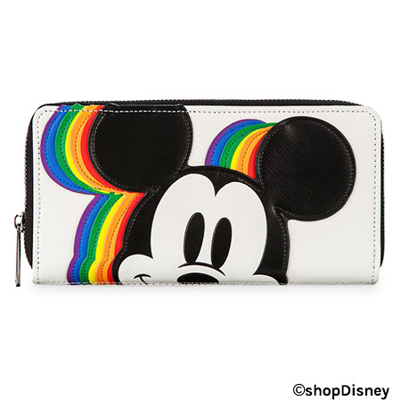 Mickey Mouse Rainbow Collection by Loungefly: Wallet | Mouse Memos Disney Blog
