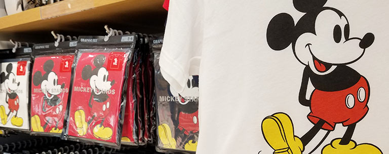 Mickey Mouse Merchandise from UNIQLO at Disney Springs | Mouse Memos Disney Blog