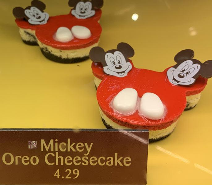 Mickey's 90th Birthday Oreo Cheesecake at Sunshine Seasons | Mouse Memos Disney Blog