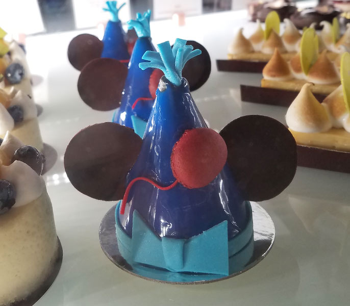 Mickey's 90th Birthday Cake at Amorette's Patisserie | Mouse Memos Disney Blog