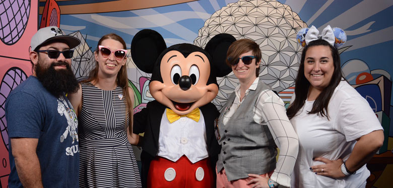 Mickey Mouse Op at Epcot | Mouse Memos Disney Blog