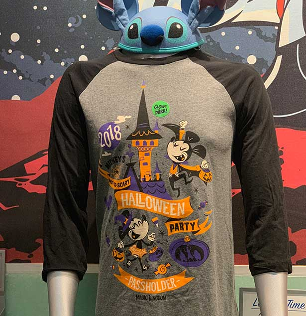 6ec15388b Mickey's Not So Scary Halloween Party Passholder Exclusive Shirt