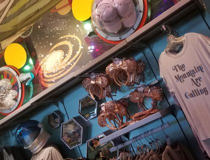Tomorrowland Merchandise at Mickey's Star Traders | Mouse Memos Disney Blog