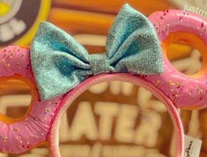 Minnie Donut Ear Headband at Hollywood Studios Passholder Event January 31, 2019 | Mouse Memos Disney Blog