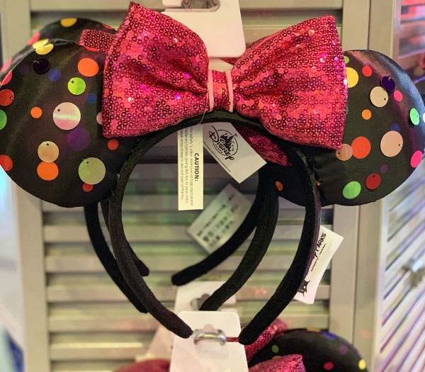 Minnie Mouse Rock the Dots Mouse Ears Headband | Mouse Memos Disney Blog