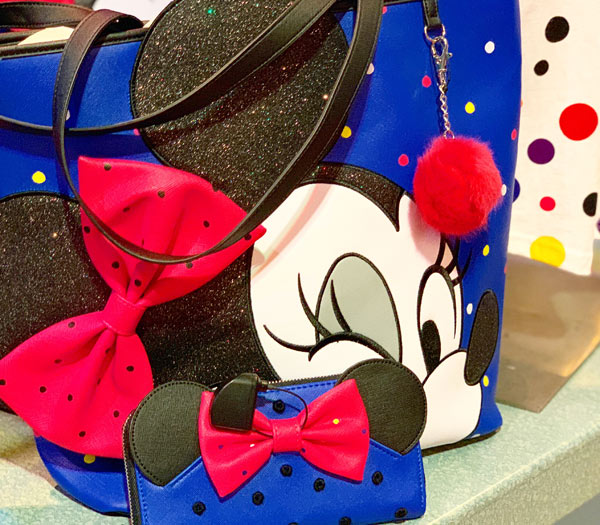 Minnie Mouse Rock the Dots Bag & Wallet | Mouse Memos Disney Blog