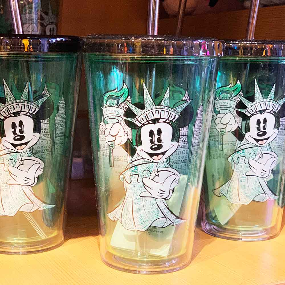 Minnie Mouse Statue of Liberty Tumbler | Mouse Memos Disney Blog