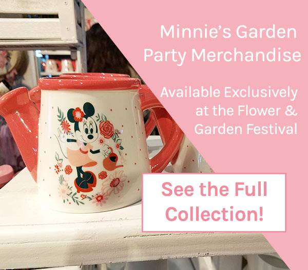 Minnie's Garden Party Merchandise 2019 Epcot Flower and Garden Festival | Mouse Memos Disney Blog