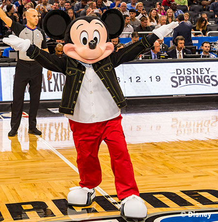 Mickey Mouse announces opening of NBA Experience at Disney Springs   Mouse Memos Disney Blog