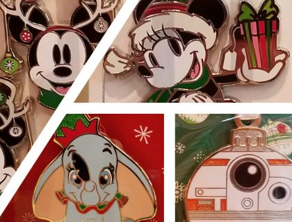 New 2018 Disney Parks Christmas Pins | Mouse Memos Disney Blog