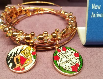 Merch Alert: New Alex and Ani Sleeping Beauty 60th Anniversary | Mouse Memos Disney Blog