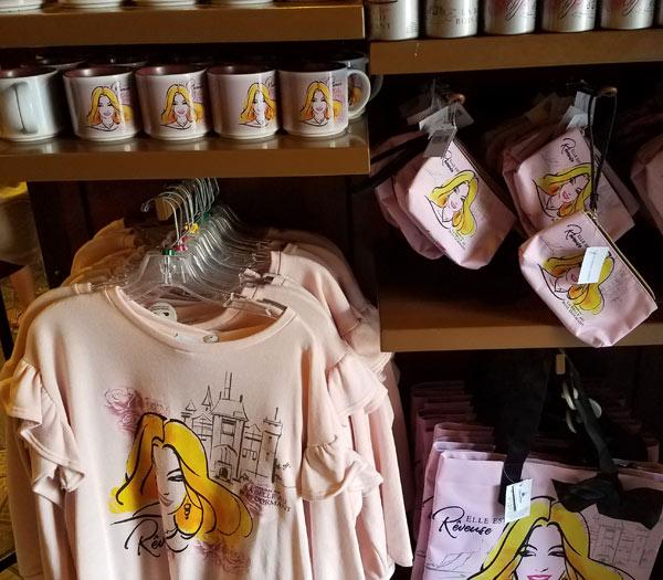 New Aurora Princess Merchandise at Epcot's France Pavilion   Mouse Memos Disney Blog