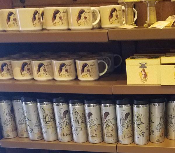 New Belle Princess Merchandise at Epcot's France Pavilion   Mouse Memos Disney Blog