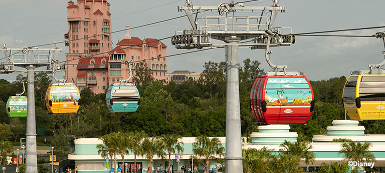 New Disney Skyliner Gondolas | Mouse Memos Disney Blog