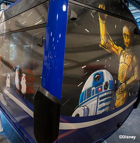 New Disney Skyliner Star Wars Gondolas | Mouse Memos Disney Blog