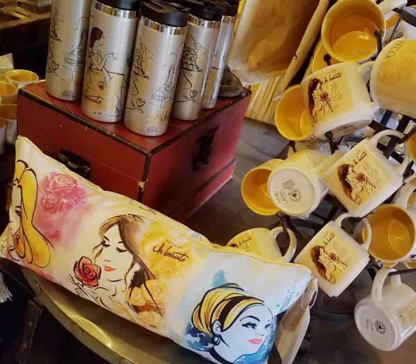 New Aurora, Belle and Cinderella Princess Merchandise at Epcot's France Pavilion   Mouse Memos Disney Blog