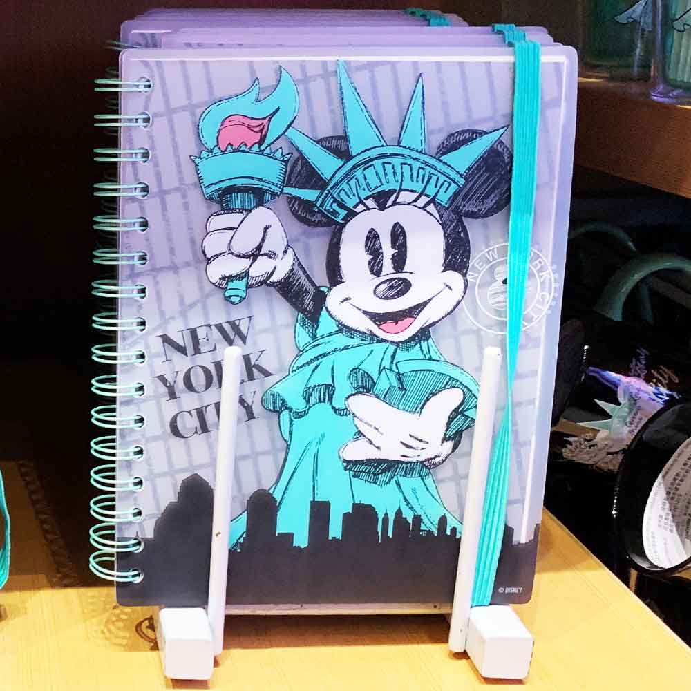 Minnie Mouse New York City Notebook | Mouse Memos Disney Blog