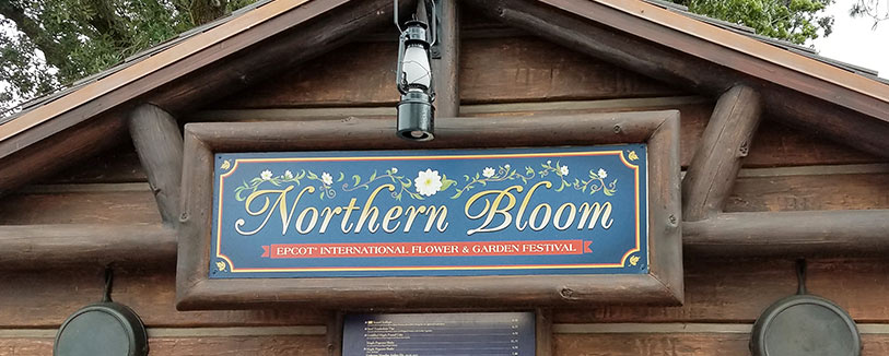 Northern Bloom Menu 2019 Epcot International Flower and Garden Festival | Mouse Memos Disney Blog