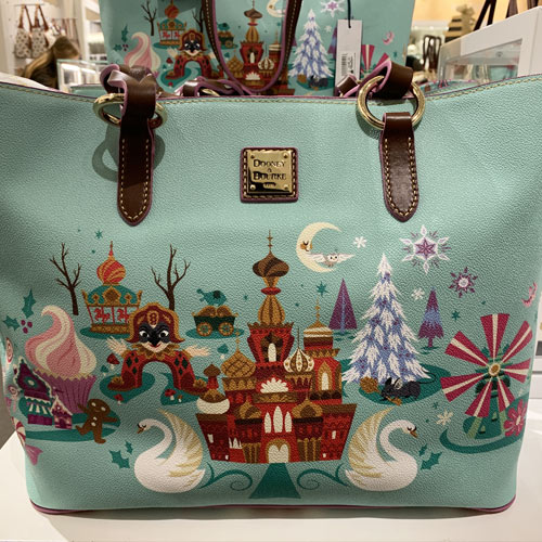 The Nutcracker and the Four Realms Tote Dooney & Bourke Collection   Mouse Memos Disney Blog