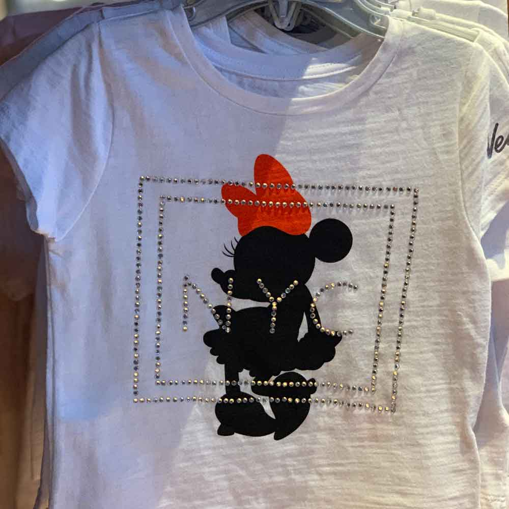 Minnie Mouse NYC Rhinestone Children's Shirt | Mouse Memos Disney Blog
