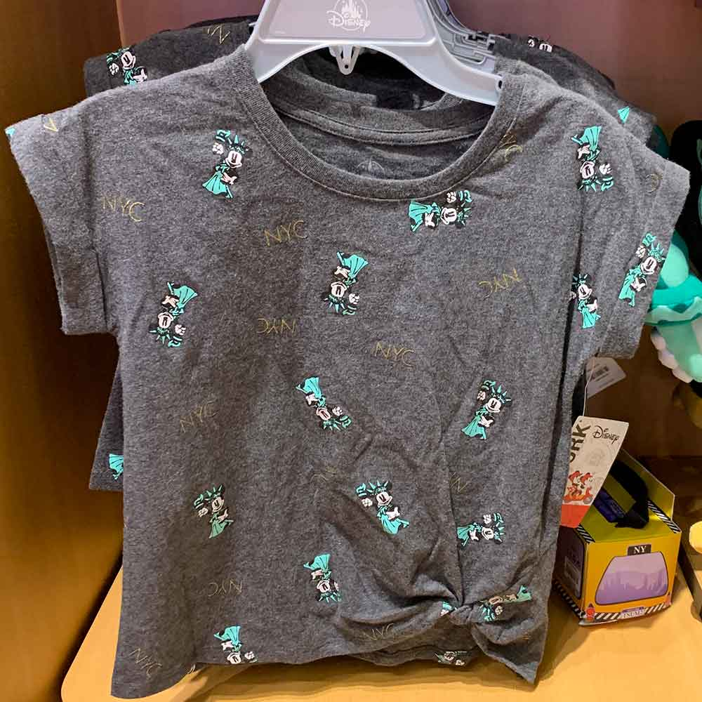 NYC Minnie Mouse Statue of Liberty Children's Shirt | Mouse Memos Disney Blog