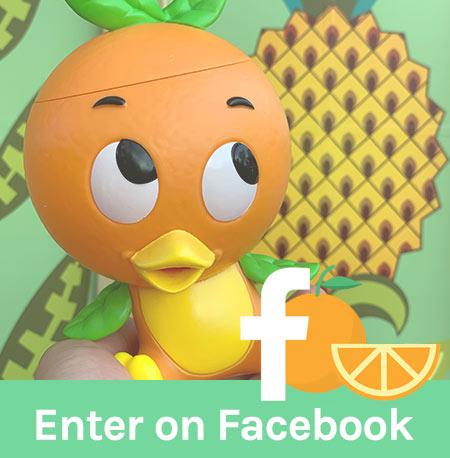 Free Orange Bird Giveaway Facebook | Mouse Memos Disney Blog