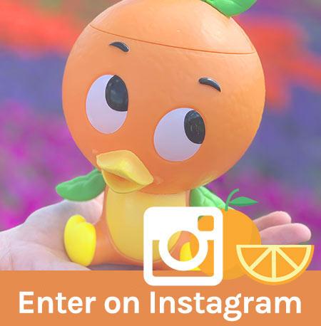 Free Orange Bird Giveaway Instagram | Mouse Memos Disney Blog