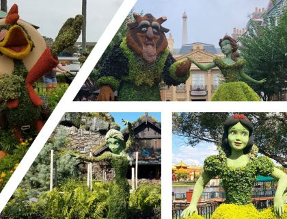 Our Top Topiaries at 2018 Epcot Flower and Garden Festival | Mouse Memos Disney Blog