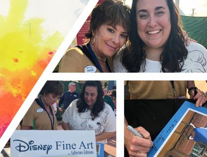 Paige O'Hara collage from Epcot's Festival of the Arts | Paige O'Hara Returns to Epcot's Festival of the Arts 2019