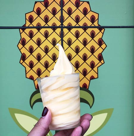 Dole Whip with Rum Pineapple Promenade: Drinking Around the World Flower & Garden Festival Edition | Mouse Memos Disney Blog