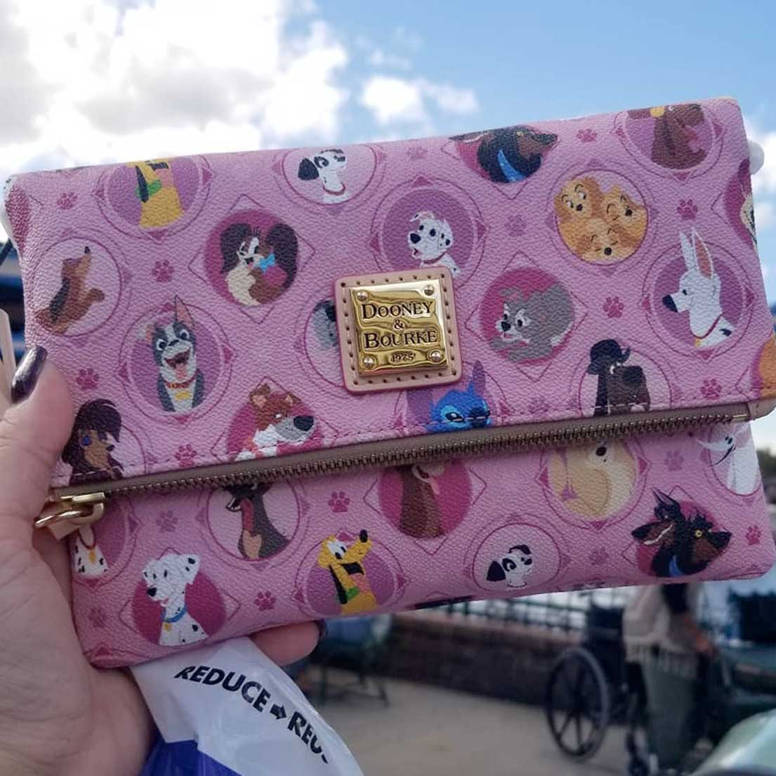 Pink Disney Dogs by Dooney & Bourke Crossbody | Mouse Memos Disney Blog