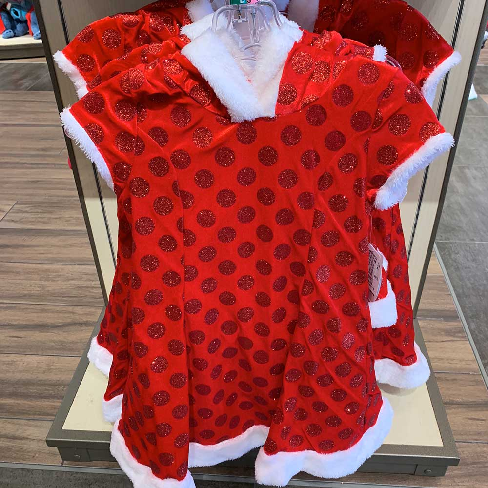 Polka Dot Christmas Dress for Kids 2018 Disney Christmas Apparel | Mouse Memos Disney Blog