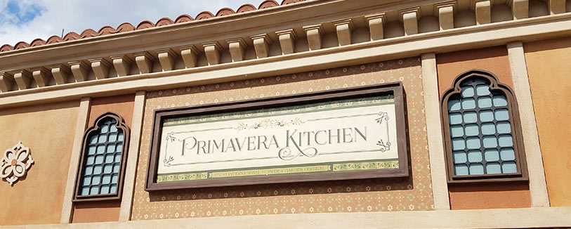 Primavera Kitchen Menu 2019 Epcot International Flower and Garden Festival | Mouse Memos Disney Blog