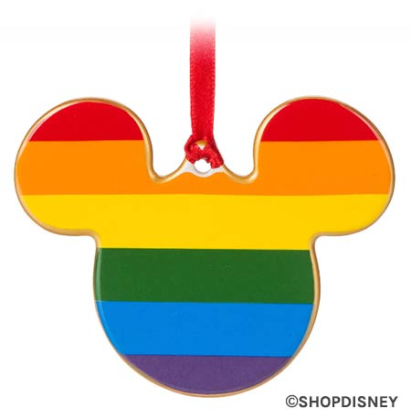 Rainbow Disney Collection Mickey Mouse Ceramic Ornament | Mouse Memos Disney Blog