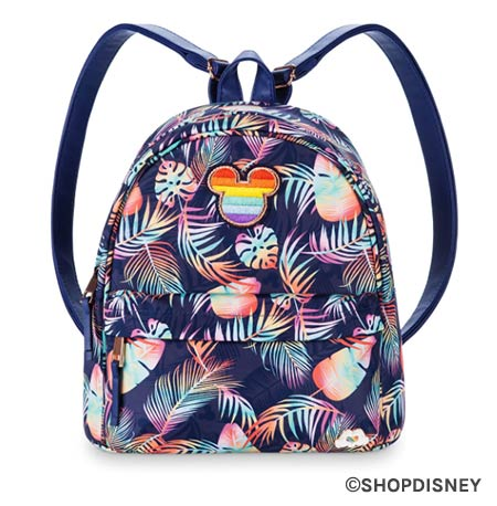 Rainbow Disney Collection Tropical Backpack | Mouse Memos Disney Blog