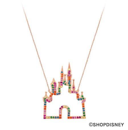 Rainbow Disney Collection Fantasyland Castle Necklace | Mouse Memos Disney Blog