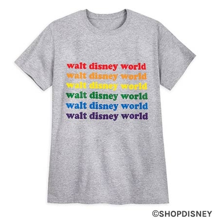 Rainbow Disney Collection Walt Disney World Pride T-Shirt | Mouse Memos Disney Blog