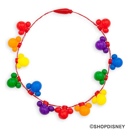 Rainbow Disney Collection Light-Up Necklace | Mouse Memos Disney Blog